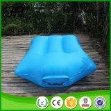 Base di campeggio gonfiabile piegante dell'aria di colore verde