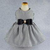 Camice a strisce eleganti Appare della maglia dei vestiti del cane del vestito dall'animale domestico