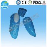Крышка ботинка Diposable Nonwoven с PP+CPE для Single-Use
