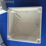 Transaprent verhindern Staub IP65 ABS wasserdichte elektrische Plastikverbinder