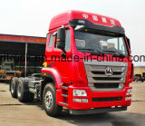 LHD/Rhd 6X4 380HP HOWO/HOHAN 트랙터 헤드 또는 트랙터 트럭