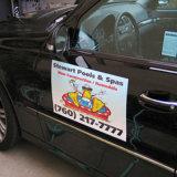 De Stickers van de magneet voor de Luim van de Auto van het Meubilair ontwerpen de Magnetische Stickers van de Auto