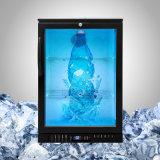 """32는 """" 음식과 음료를 위해 LCD 냉각기를 꿰뚫어 본다"""