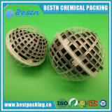 水処理のための生物中断された球