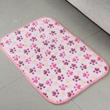 新しいデザインポリエステル印刷の花の床のマット