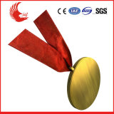 Le modèle neuf folâtre la médaille en laiton professionnelle de marathon de médaille