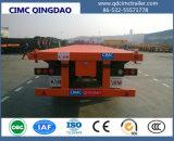Cimc Flachbett-halb Schlussteil-LKW-Chassis