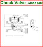 600lb ha flangiato valvola di ritenuta dell'oscillazione dell'estremità (GAH44H)