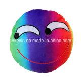 견면 벨벳 장난감 정서 Emoji 다채로운 베개