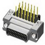 Ficha eléctrica rectangular miniatura do conector USB Mini D-SUB