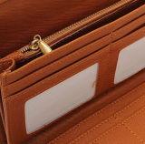Kreditkarte-Kupplungs-Halter-lange Mappen der Frauen der Dame-Leather Purse