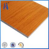 Esterno Using il comitato composito di alluminio di legno d'imitazione di PVDF