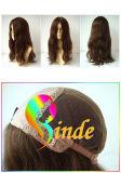 La seda Top100% Virgen mongol judío de cabello pelucas (JDH022)