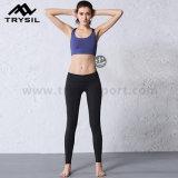 여자 옷 요가 의류를 달리는 운동 바지 운동복 적당 각반