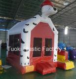 O salto minúsculo do tamanho de família abriga inflável com o Pve para o brinquedo (CR-985)