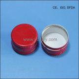 28mm rouge des capsules en aluminium