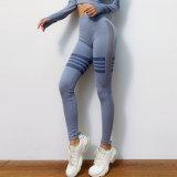 2020 novas calças de ioga Hollowed-Mesh Nádega High-Waisted levante apertados calças desportivas Nádega Pêssego Calças de Fitness