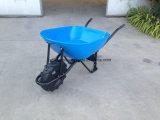 Carro de aço da mão da plataforma da venda por atacado do carrinho de mão de roda do Wheelbarrow Wb8000