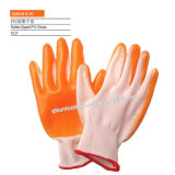 K-51 13ゲージポリエステルかナイロンニトリルによって塗られる働く手袋