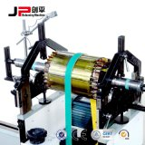 Macchina dell'equilibrio di rotore del motore con la trasmissione a cinghia
