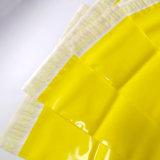 Fördernde gelbe Farben-sendender Umschlag-Plastikbeutel