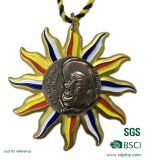 Medaglia su ordinazione di sport dell'incisione del metallo