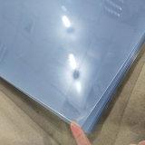 feuille transparente claire de PVC de 610X610X0.6mm pour le casque de Thermoforming