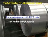 Sustituto del lingote de aluminio