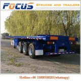 2 assen 3 Assen 4 de Aanhangwagen van de Container van Assen voor Speciaal Vervoer