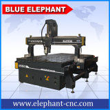 Ele 1530 Jinan Blue Elephant CNC máquina de grabado de madera, 3D de madera CNC maquinaria para la puerta, la guitarra haciendo