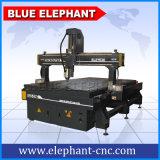 Ele 1530년 Jinan 파란 코끼리 CNC 목제 새기는 기계, 문, 기타 만들기를 위한 3D CNC 목제 기계장치