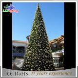 다채로운 옥외 훈장 PVC 인공적인 거대한 크리스마스 나무 빛