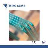 Ontruim Aangemaakt Glas met de de Opgepoetste Randen/Druk/Gaten van de Serigrafie voor het Toestel van het Meubilair/van het Huis