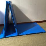 Beste Verkopende Goedkope Vouwende Gymnastiek- Mat voor Opleiding aan de Prijs van de Fabriek van de Club