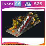 Оборудование спортивной площадки зоны малыша крытое мягкое (QL--022)