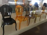 PC Polycarbonate Belle Epoque Chair, Clear Resin Princess Chair