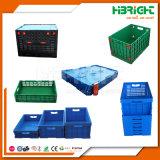 Un gran contenedor de palets de plástico bandejas plegables contenedores plegables