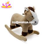 Los nuevos más populares de peluche gracioso bebé Rocking Animal para el Caballo W16D113.