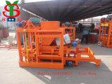 Concreto Bloque Hueco-forma la máquina / Toma de ladrillo macizo de la máquina en Nigeria