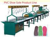 Linha de produção da sapata macia automática única
