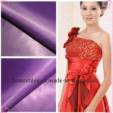 Poliestere 100% Satin Fabric per Evening Dress
