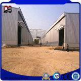 O cultivo da grelha da construção de aço dos edifícios do metal verteu