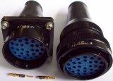Ty48-31 goupille le connecteur circulaire d'accouplement à baïonnette