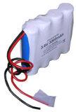 Bateria recarregável do diodo emissor de luz da potência do lítio (18650)