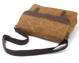 Sacchetto di spalla promozionale della borsa della tela di canapa di Repllence dell'acqua di svago del messaggero (RS-9158)