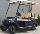 4台の人の電気車の小型ゴルフ車