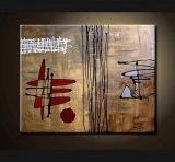 Huile sur toile abstraite (AB06)