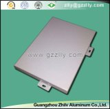 Revêtement en aluminium à la mode de mur pour des projets décoratifs de construction
