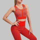 A ioga Musculação Bra Pants definir as mulheres apertadas calças Perneiras Motion Suit Sportswear sutiã de desporto Fitness Academia de Ginástica de vestuário