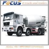 Veículos de mistura de venda quentes do caminhão do cimento de 10cbm Shacman